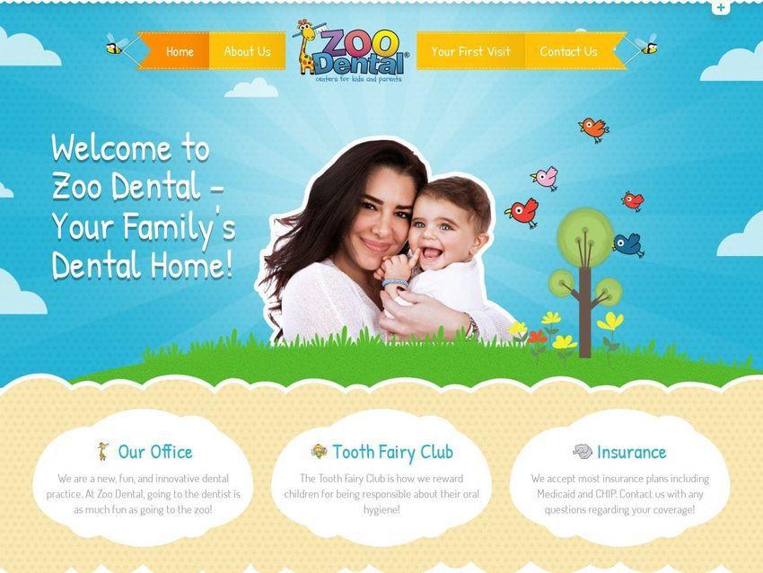 Zoo Dental Website Screenshot from zoodental.com