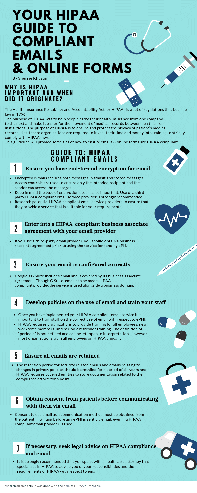 Hipaa Compliant Email Details